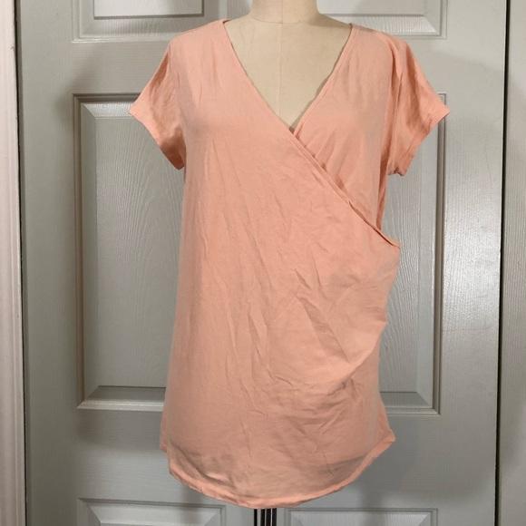 Merona Tee Peach Color Size XL
